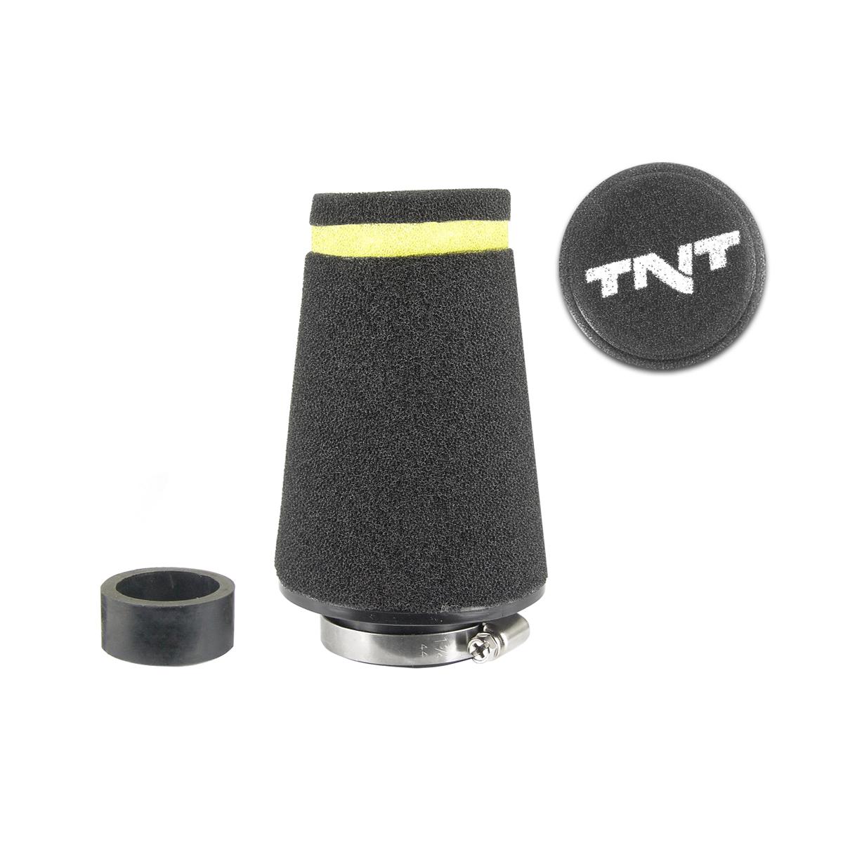 Filtre à air TNT mousse small ø28/35 noir