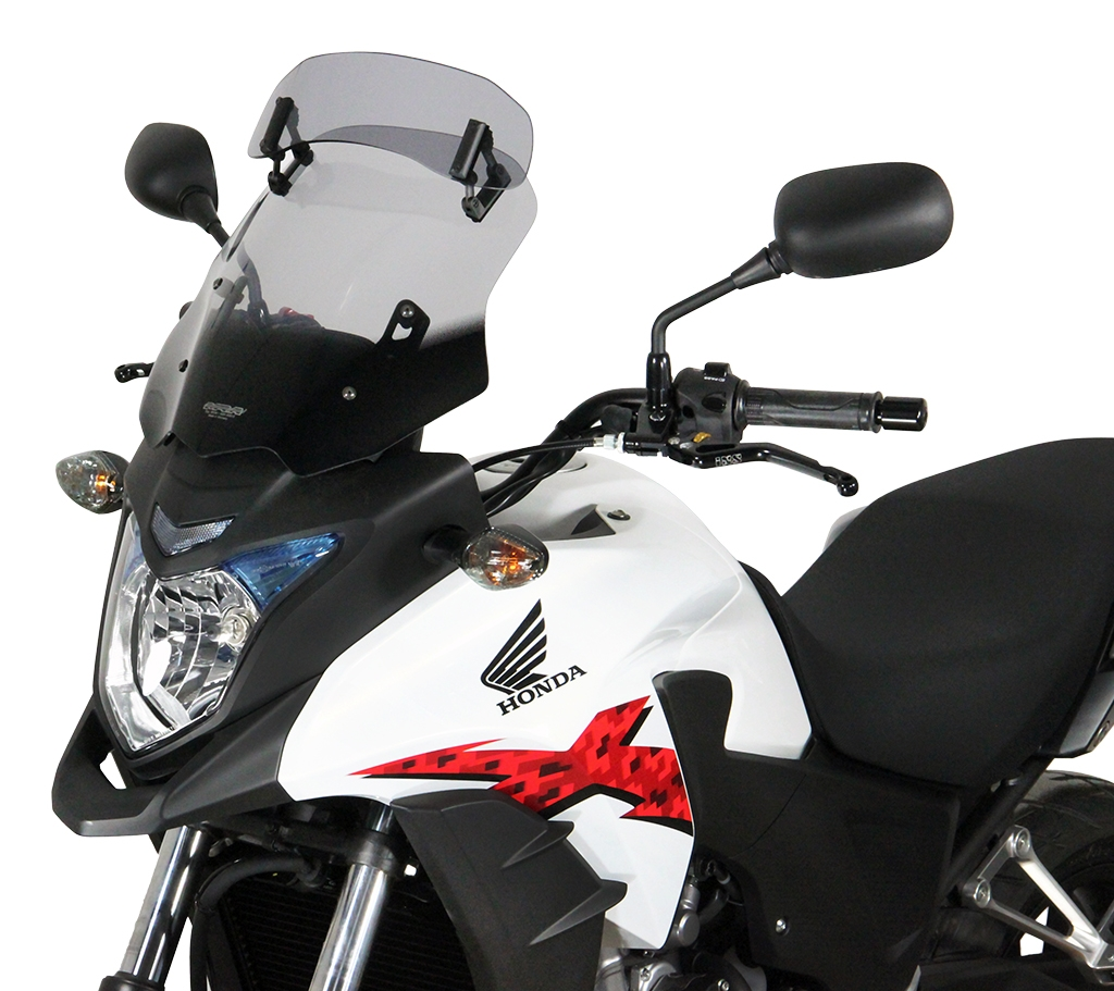 Pare-brise MRA Vario Touring clair Honda CB 500 X 13-15