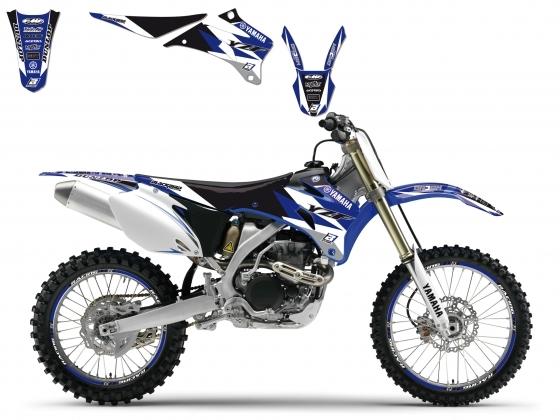 Kit déco + Housse de selle Blackbird Dream Graphic 3 Yamaha 450 YZ-F 0