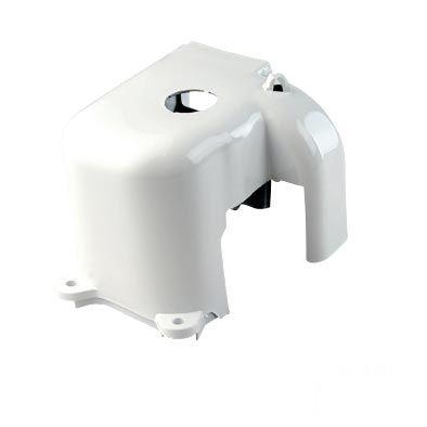 Cache cylindre MBK Booster - Stunt / Yamaha Bw's Slider blanc
