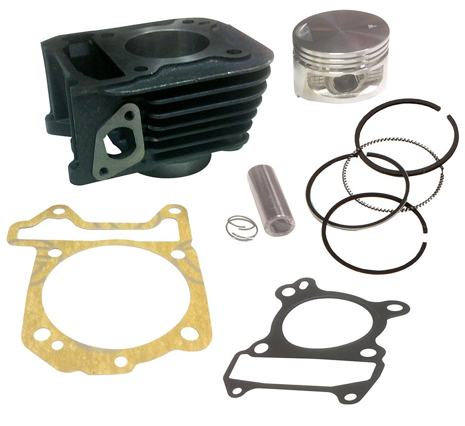 Kit cylindre piston C4 pour Piaggio Fly 125 05-12