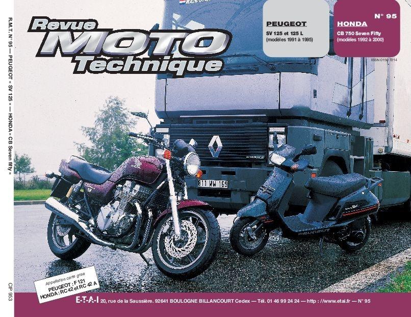 Revue Moto Technique 95.3 Peugeot SV 125