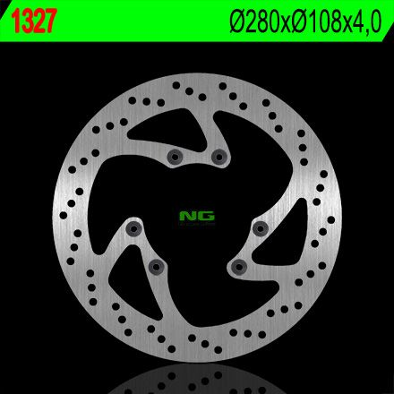 Disque de frein NG Brake Disc D.280 rond avant derbi terra/mulhacen