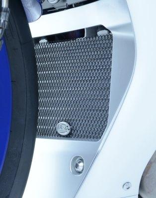 Protection de radiateur dhuile dark blue R&G Racing Yamaha YZF-R1 15-