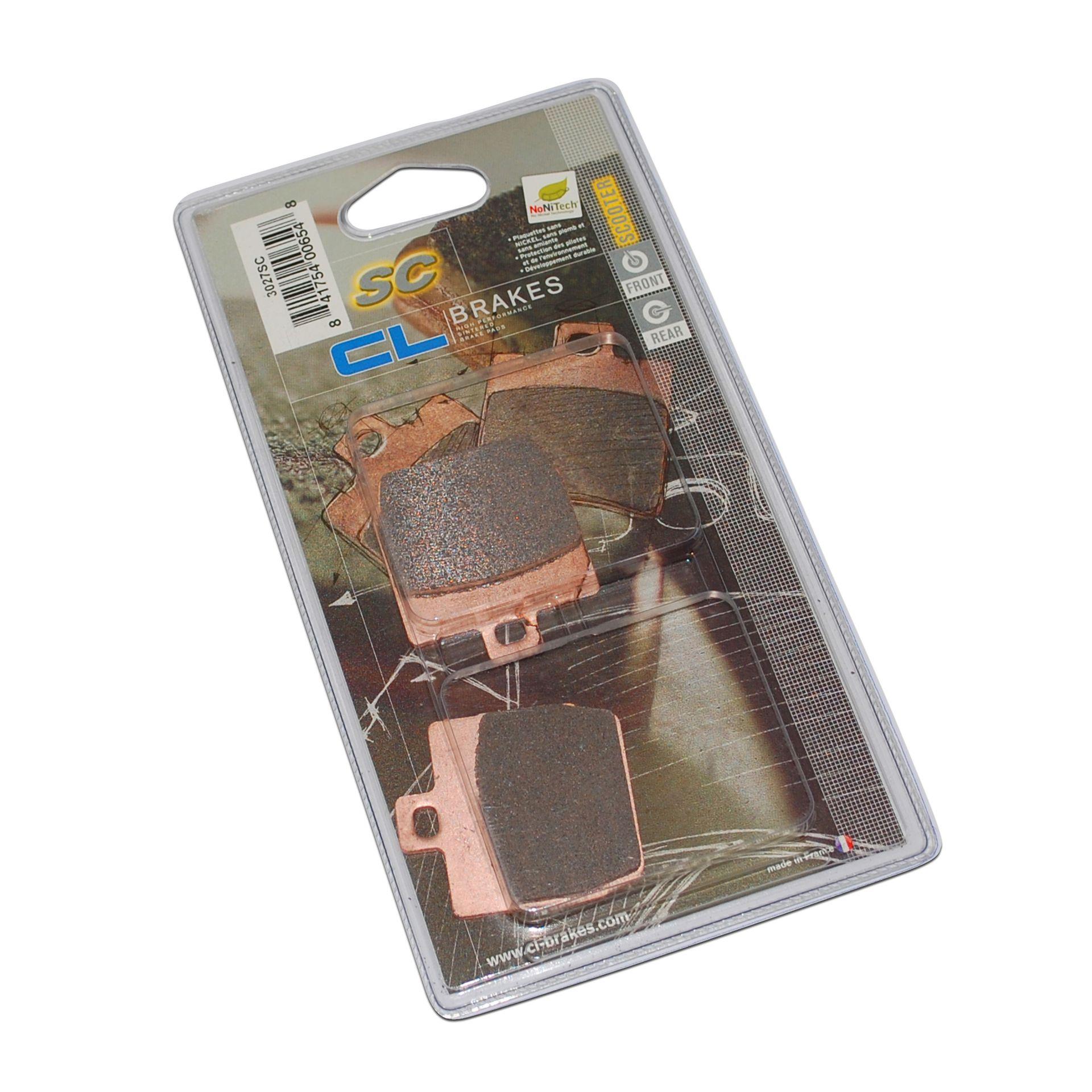 Plaquettes de frein Carbone Lorraine 3027SC