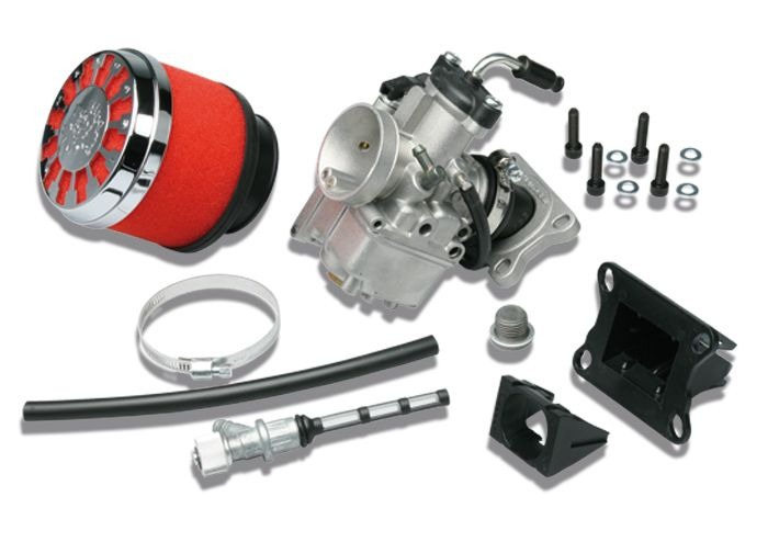 Kit carburateur Malossi VHST 28 BS MHR TEAM pour AM6 / DERBI
