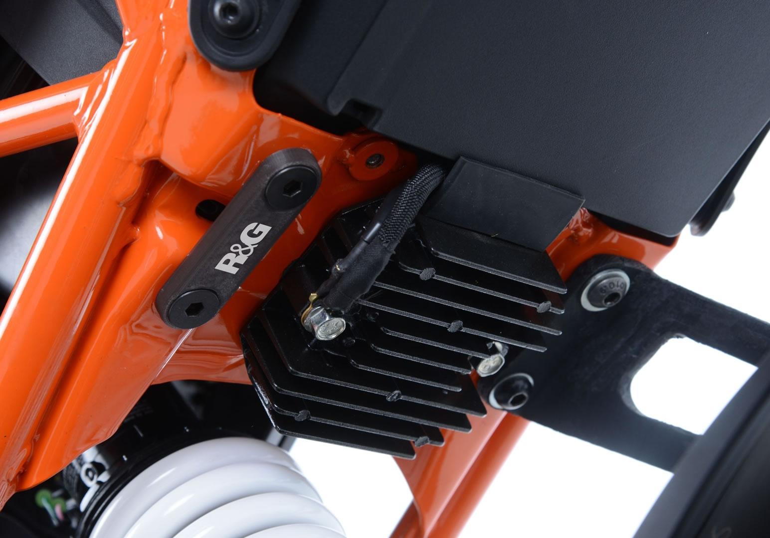Kit de suppression de repose-pieds arrière R&G Racing KTM 125 Duke 17-