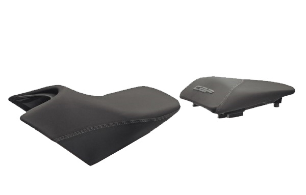 Selle confort SHAD Honda CBF 600 09-12 / CBF 1000 2012 noir/gris