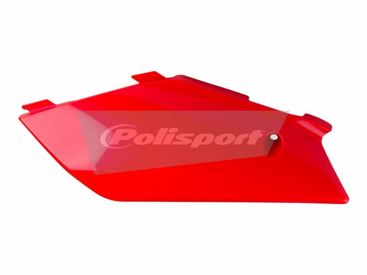 Plaques latérales Polisport Gas Gas 300 EC 2012 rouge