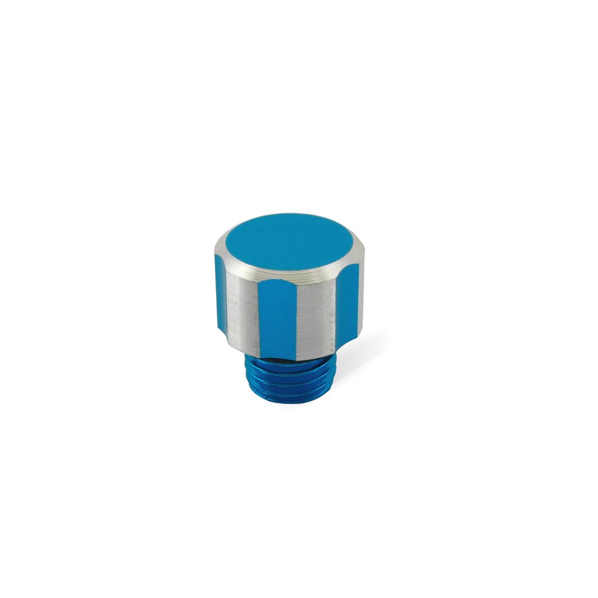 Bouchon Huile Derbi Senda Alu - Bleu anodisé