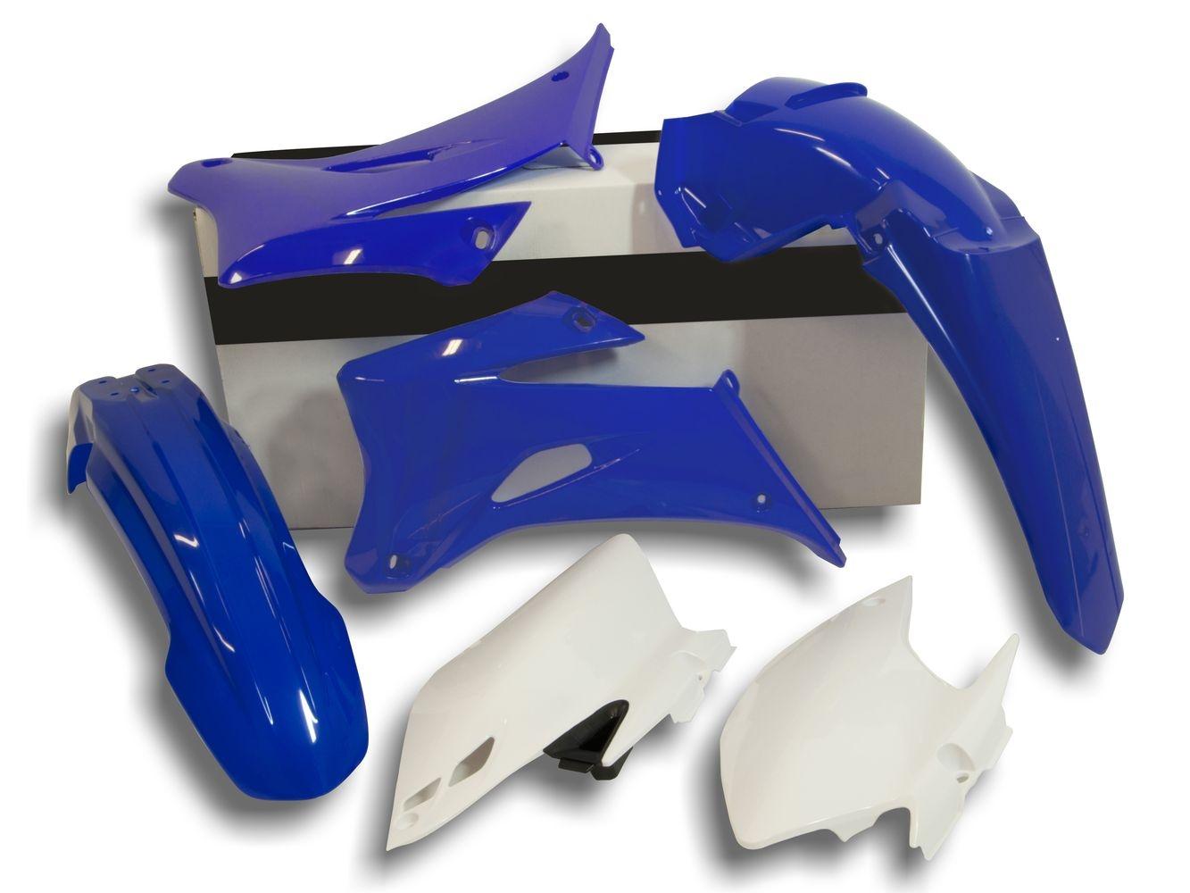 Kit plastique Racetech couleur dorigine bleu 2013 pour Yamaha WR250F