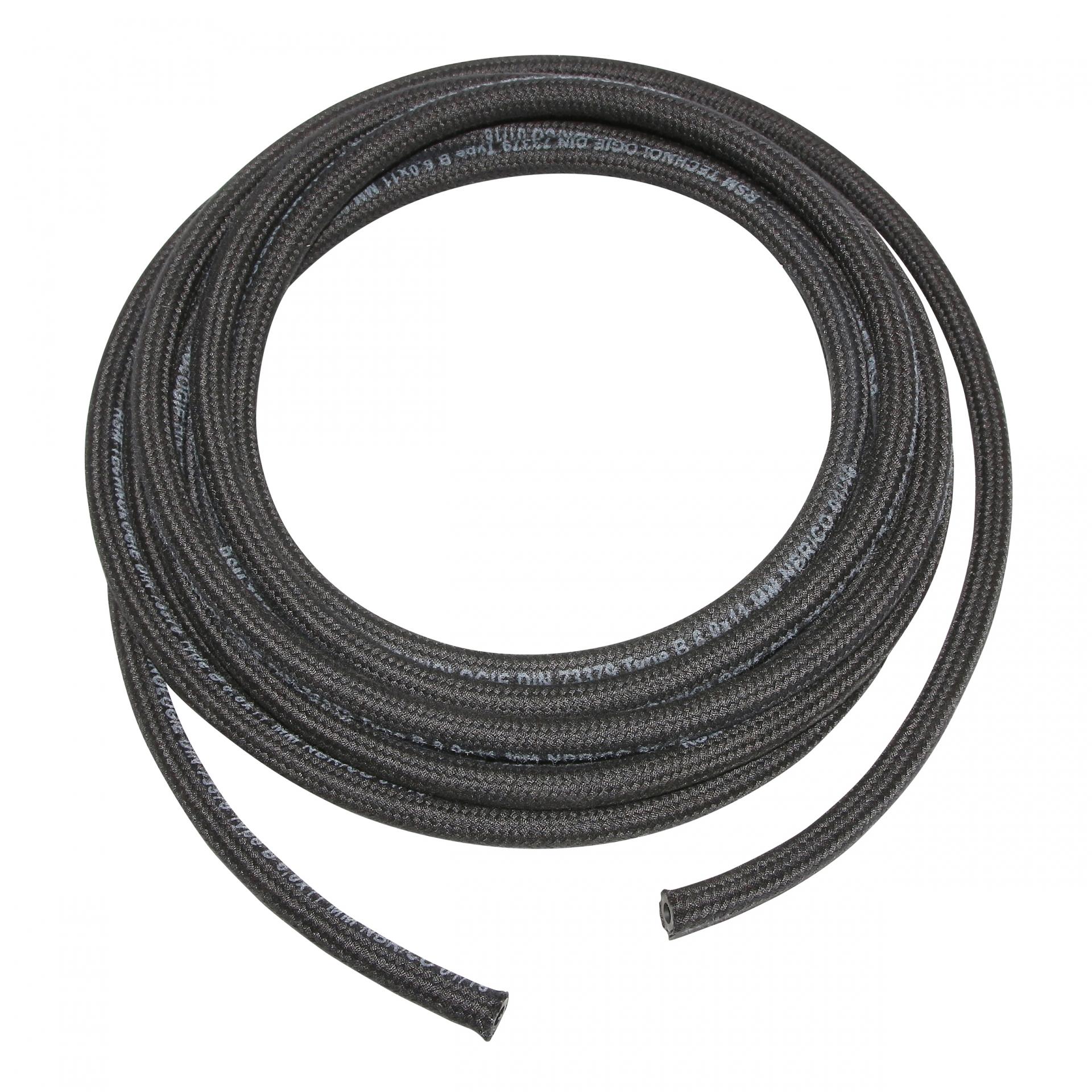 Durite essence NBR 6x11 spéciale hydrocarbure noire