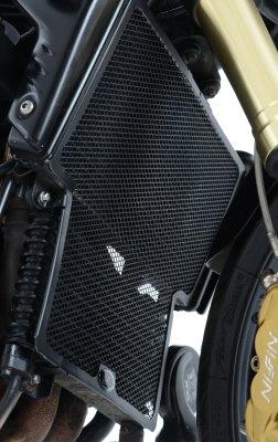 Protection de radiateur noire R&G Racing Triumph Speed Triple 1050 200