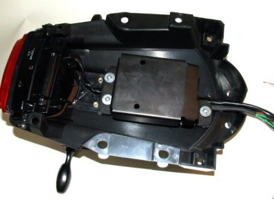 Kit de montage alarme R&G Racing Honda CBR 1000 RR 08-11 avec alarme o