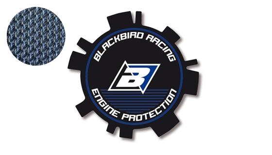 Stickers de couvercle d'embrayage Blackbird Yamaha 125 YZ 02-17 bleu/n