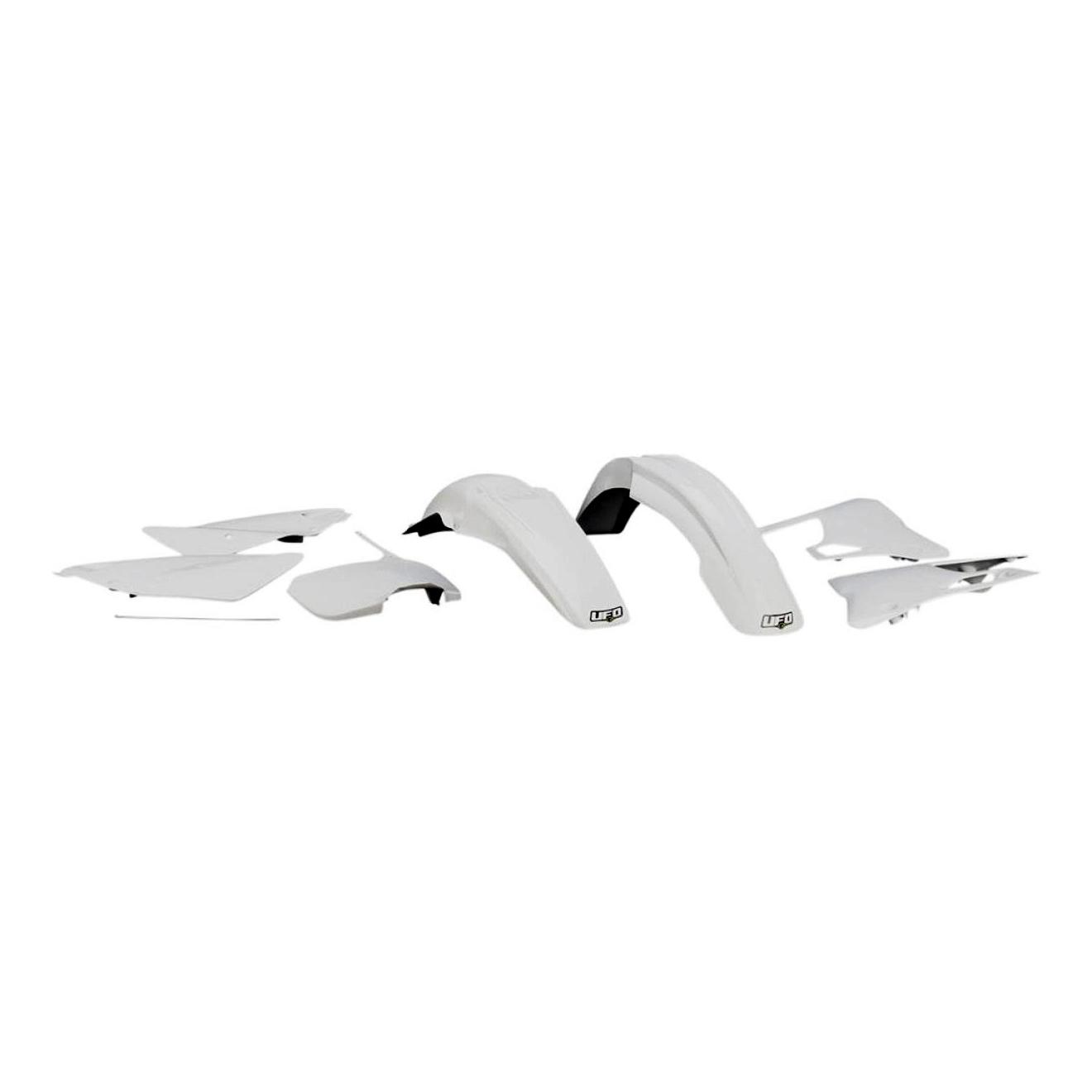 Kit plastique UFO Yamaha 125 YZ 00-01 blanc
