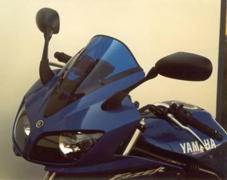 Bulle MRA Racing noire Yamaha FZS 600 Fazer 02-03