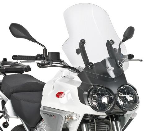 Pare brise Kappa Moto Guzzi 1200 Stelvio 08-10 transparent