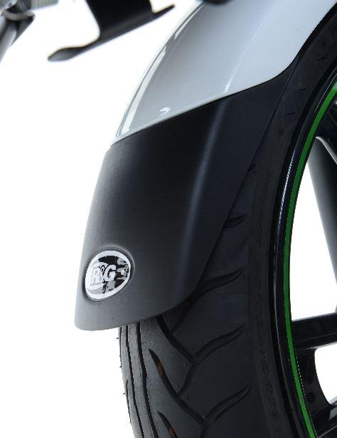 Extension de garde-boue avant R&G Racing noir Triumph Thruxton 1200 R