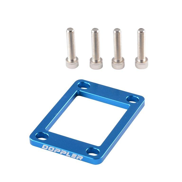 Cale admission Doppler alu CNC 5mm Derbi Senda / Minarelli AM6