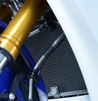 Protection de radiateur noire R&G Racing Yamaha YZF-R1 15-18