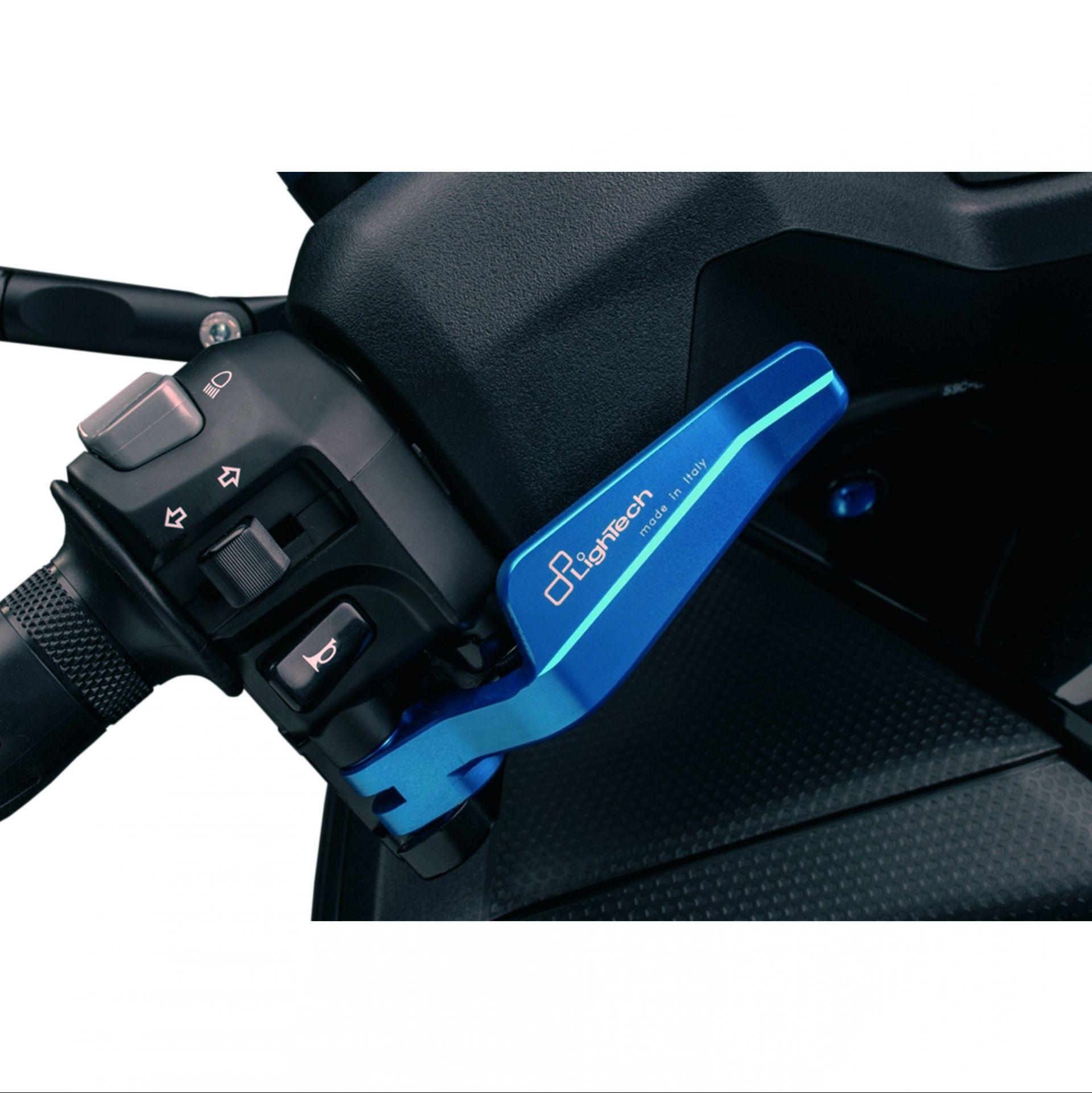 Levier de parking Lightech bleu pour Yamaha T-Max 530 12-16