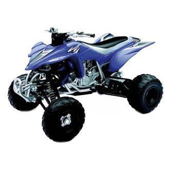 Yamaha quad 450 YFZ 2008 1:12 NewRay bleu