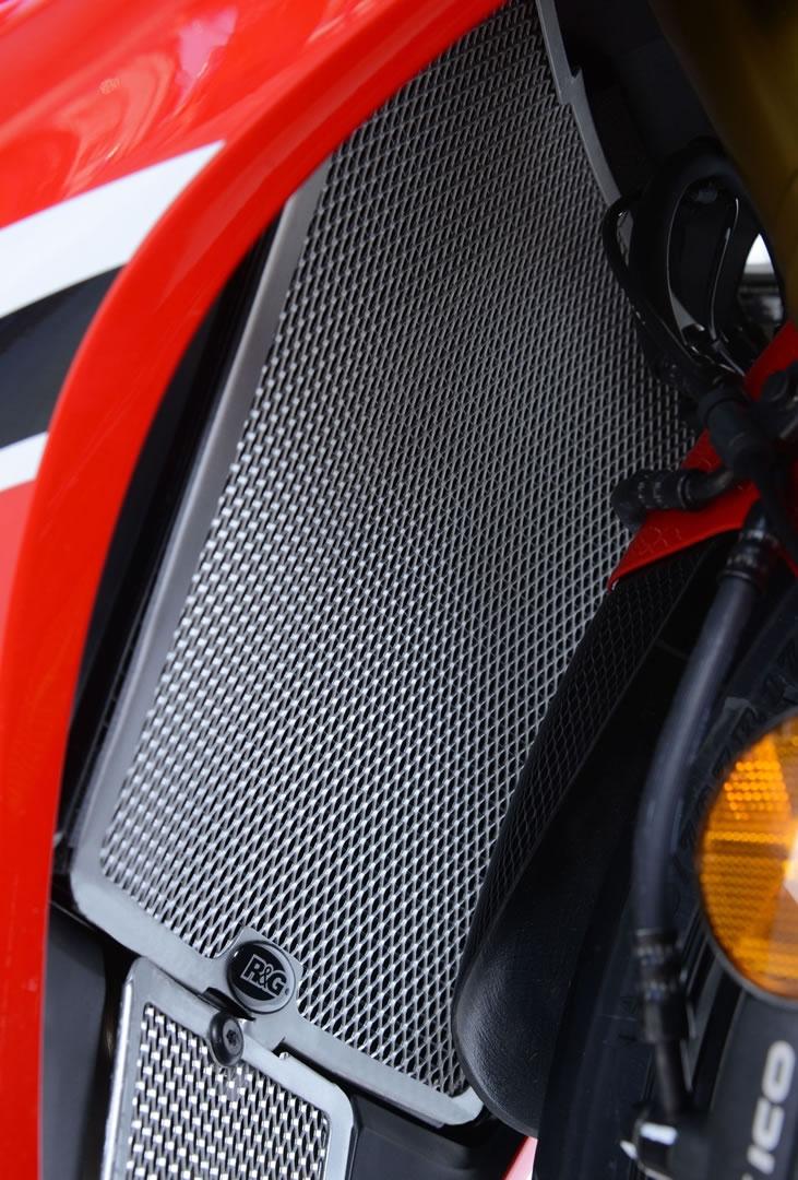 Protection de radiateur R&G Racing noire Honda CBR 1000 RR 17-18