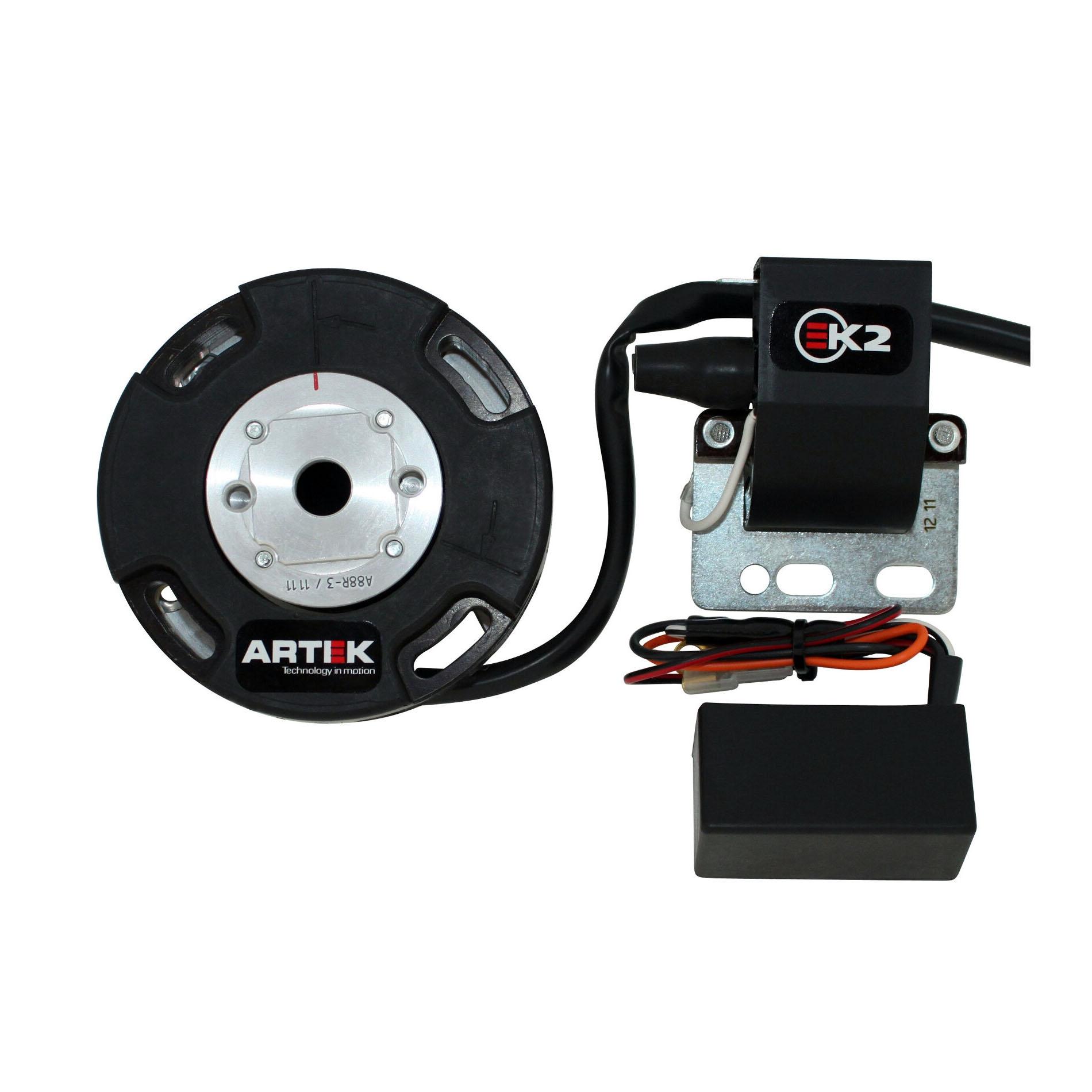 Allumage Artek K2 rotor interne digital sans démarreur pour MBK 50 x-p