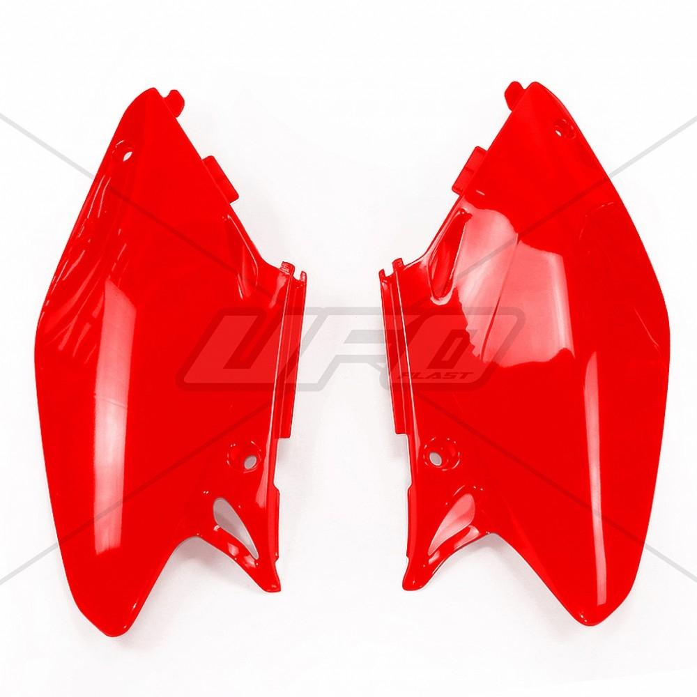 Plaque numéro latérale UFO Honda CR 250R 02-04 rouge (rouge CR 00-12