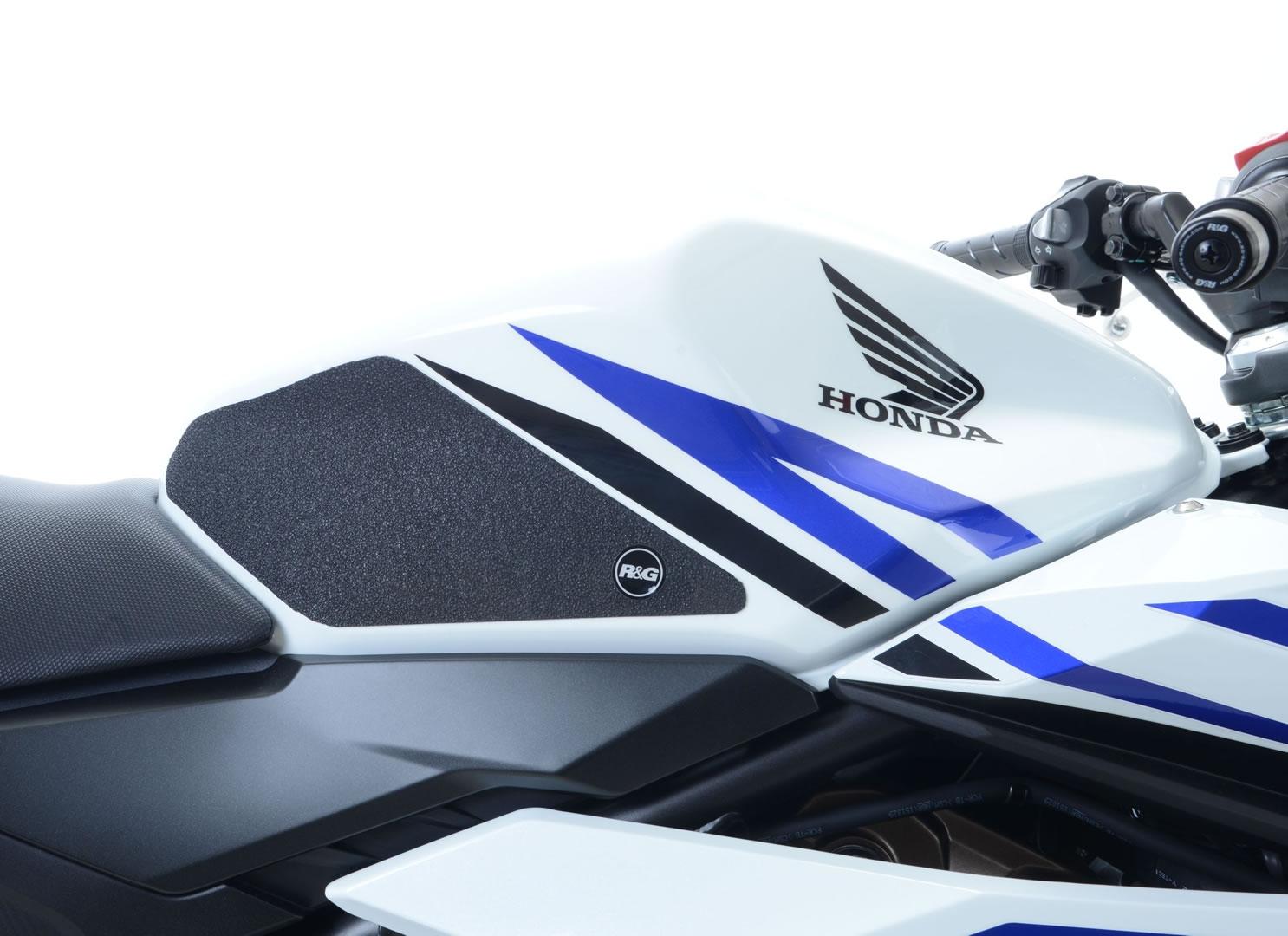 Kit grip de réservoir R&G Racing noir Honda CBR 500 R 16-18
