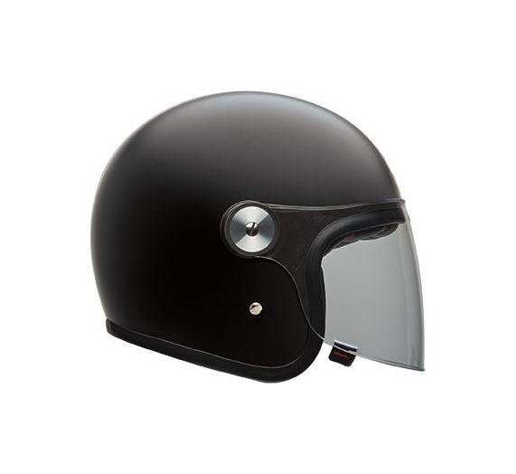 Casque jet Bell Riot noir mat - XS
