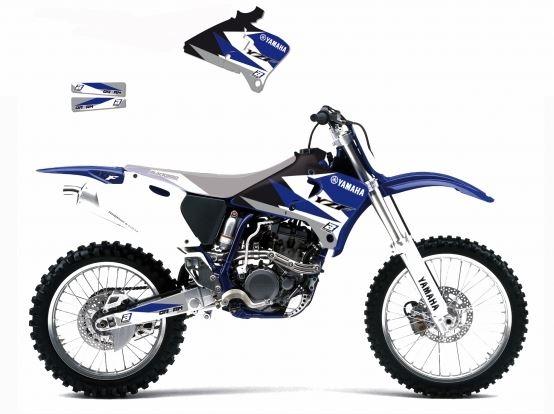 Kit déco Blackbird Dream Graphic 3 Yamaha 426 YZ-F 00-02 bleu