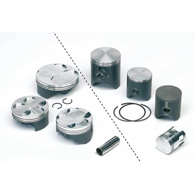 Piston Tecnium Forgé D.58,5 mm 8002D250 YAMAHA DT 125 de 1988 à 2005