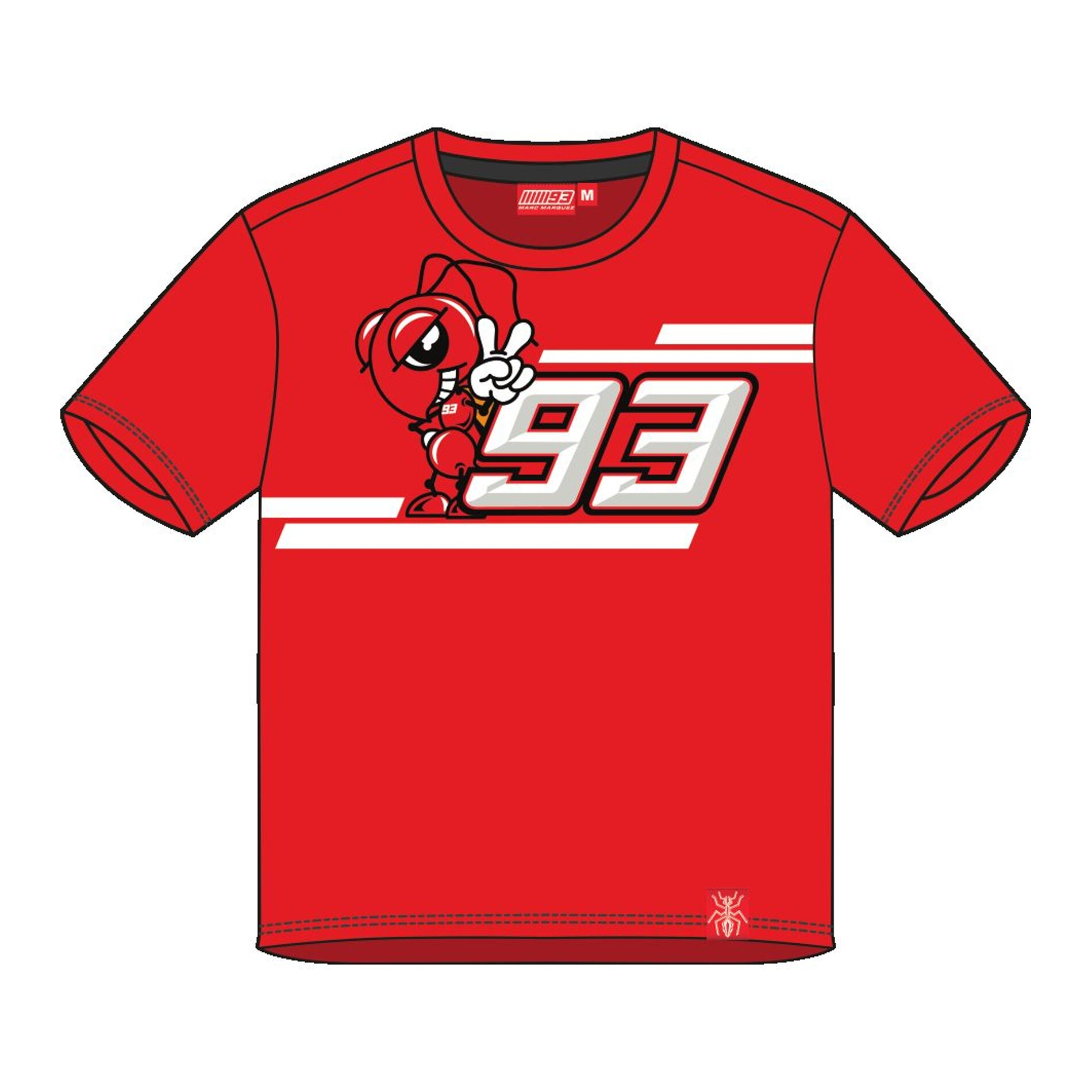 T-Shirt enfant Marc Marquez Kid rouge - 2/3 ans