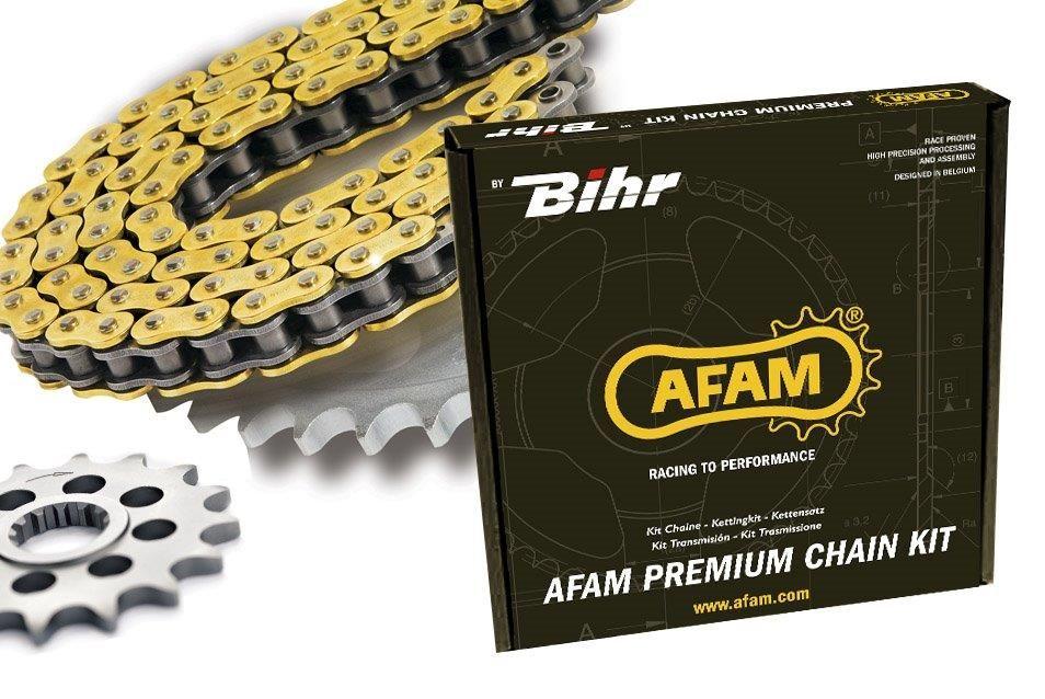 Kit Chaine Afam 11x53 420 type R1 Aprilia SX