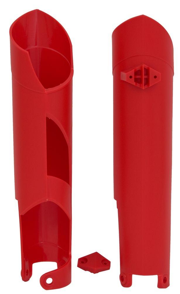 Protection de fourche Racetech Rouges pour Gas Gas EC 250 09-13
