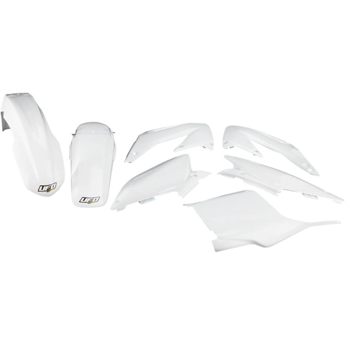 Kit plastique UFO Honda CR 125R 05-07 blanc