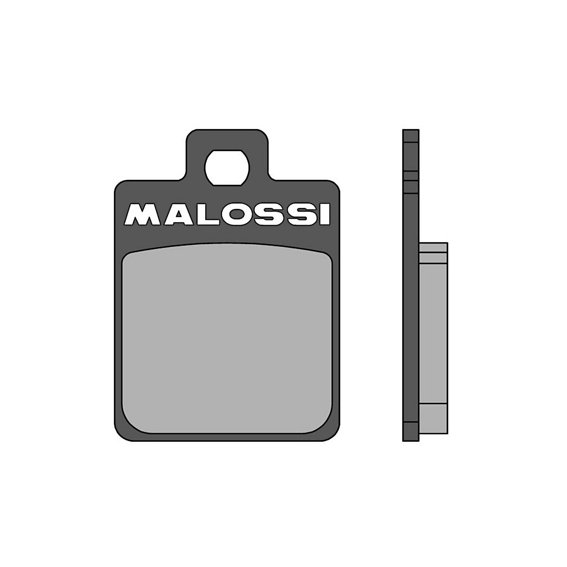 Plaquettes de frein Malossi Piaggio MP3 / Gilera Runner