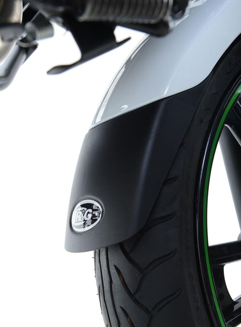 Extension de garde-boue avant R&G Racing noir Honda CBR 500 R 16-18
