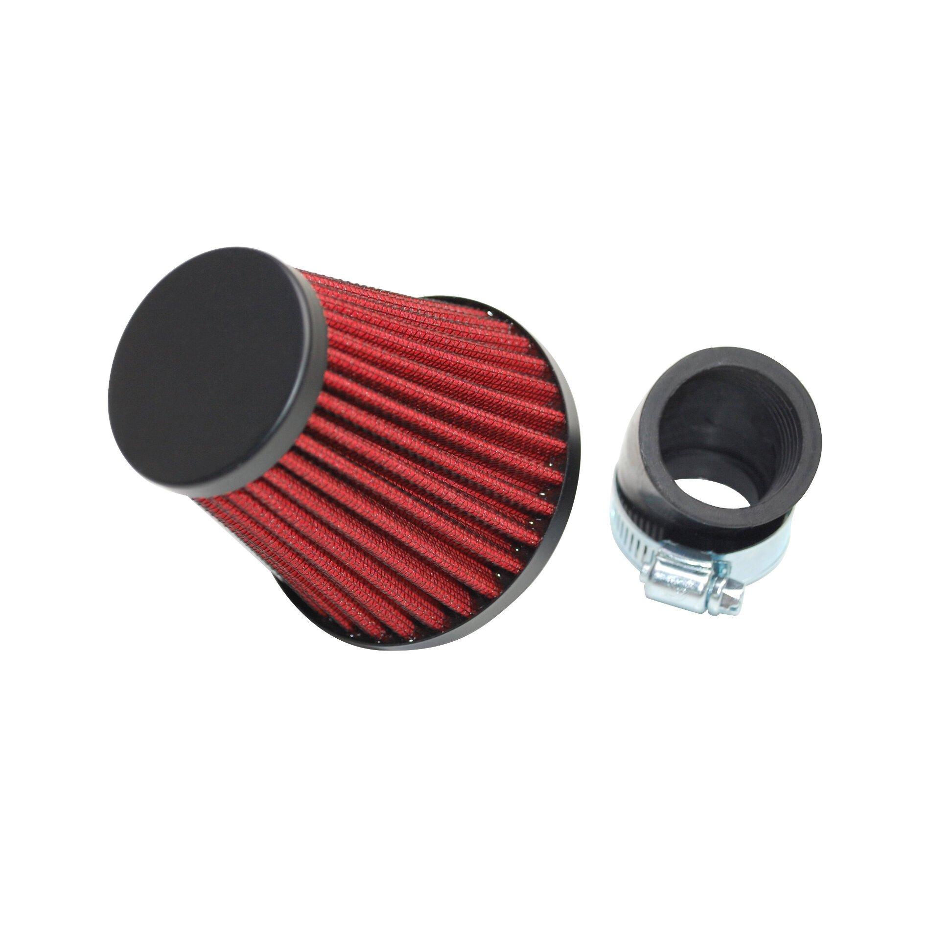 Filtre à air Replay KN XL noir/rouge D. 35/28