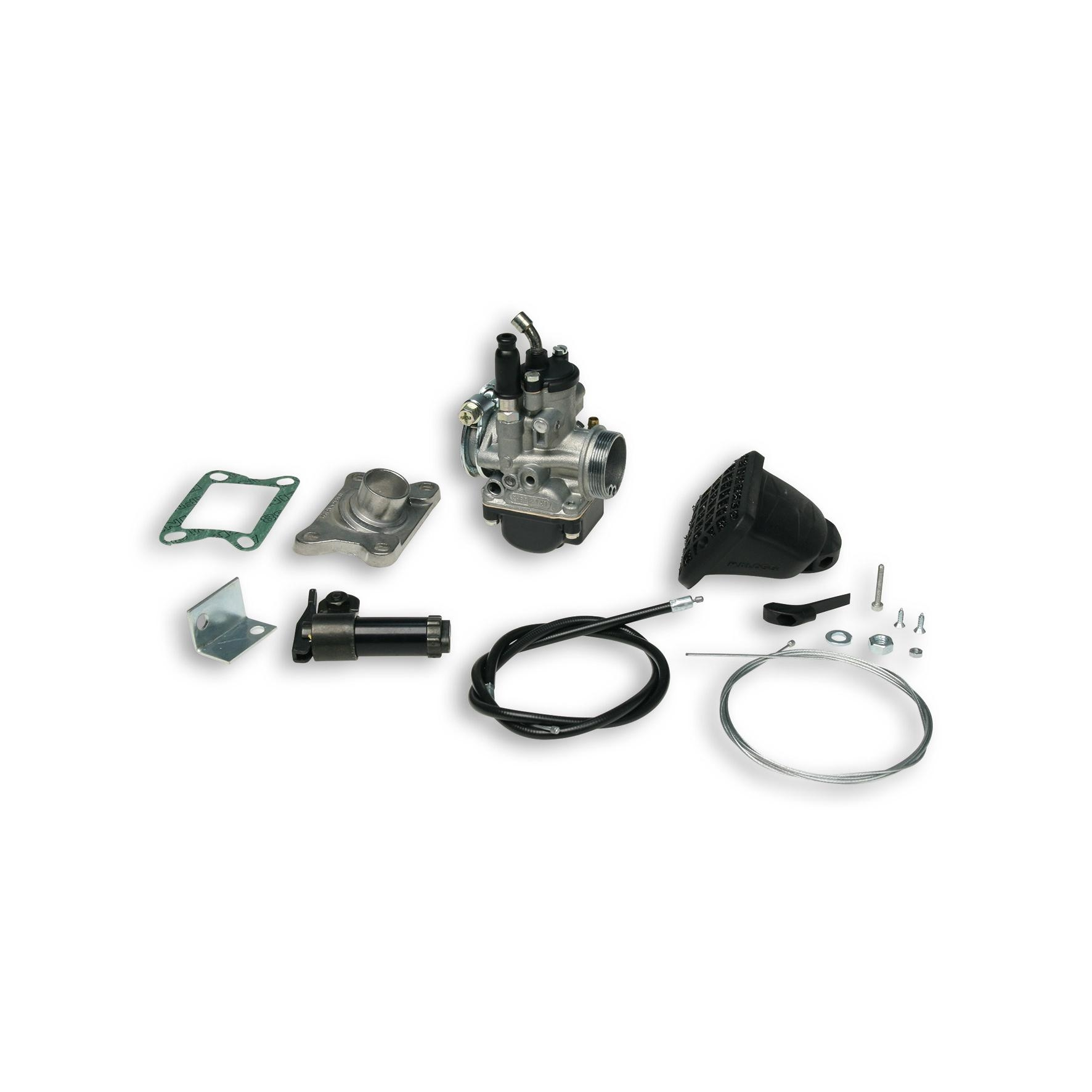 Kit carburateur Malossi PHBG 21 Malaguti Fifty Top 50