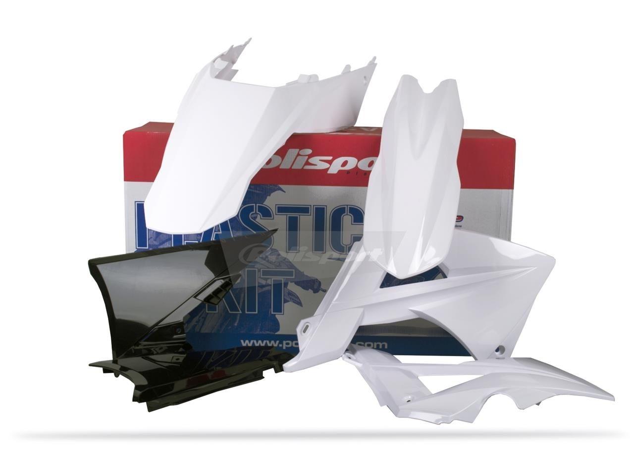 Kit plastique Polisport Gas Gas 300 EC 2011 blanc/noir