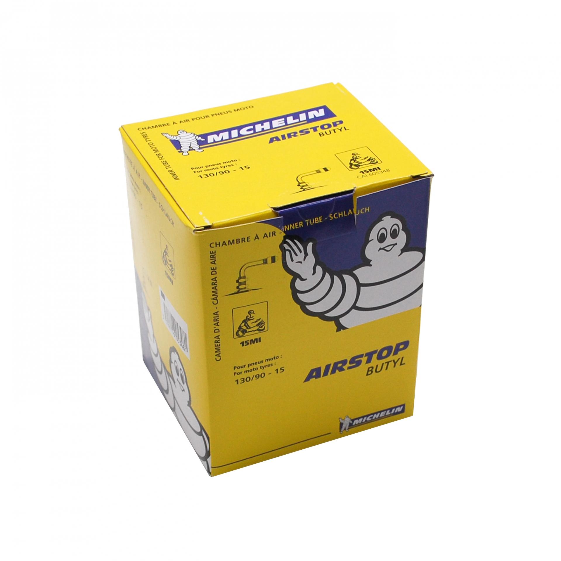 Chambre à air Michelin Street 130/90-15 valve coudée à 90