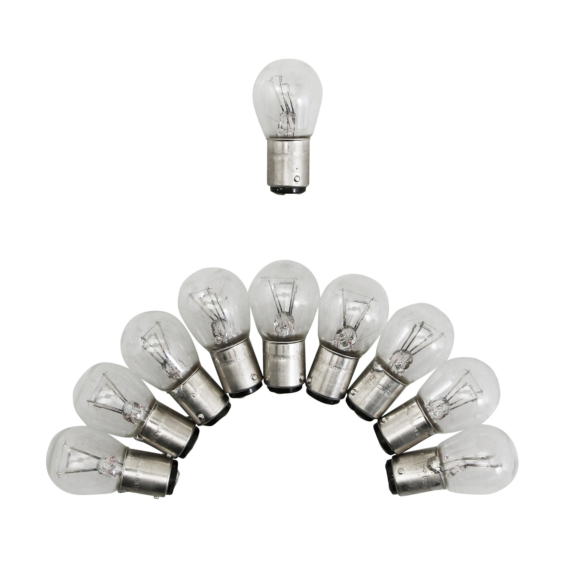 Ampoules Osram P21-5W 12V 21-5W blanc (x10)
