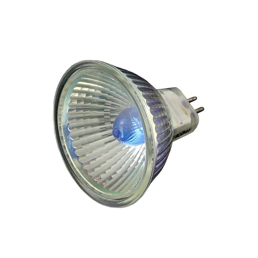 Ampoule MR16 dichroïque Xénon 12V 35W Ø 50 bleu