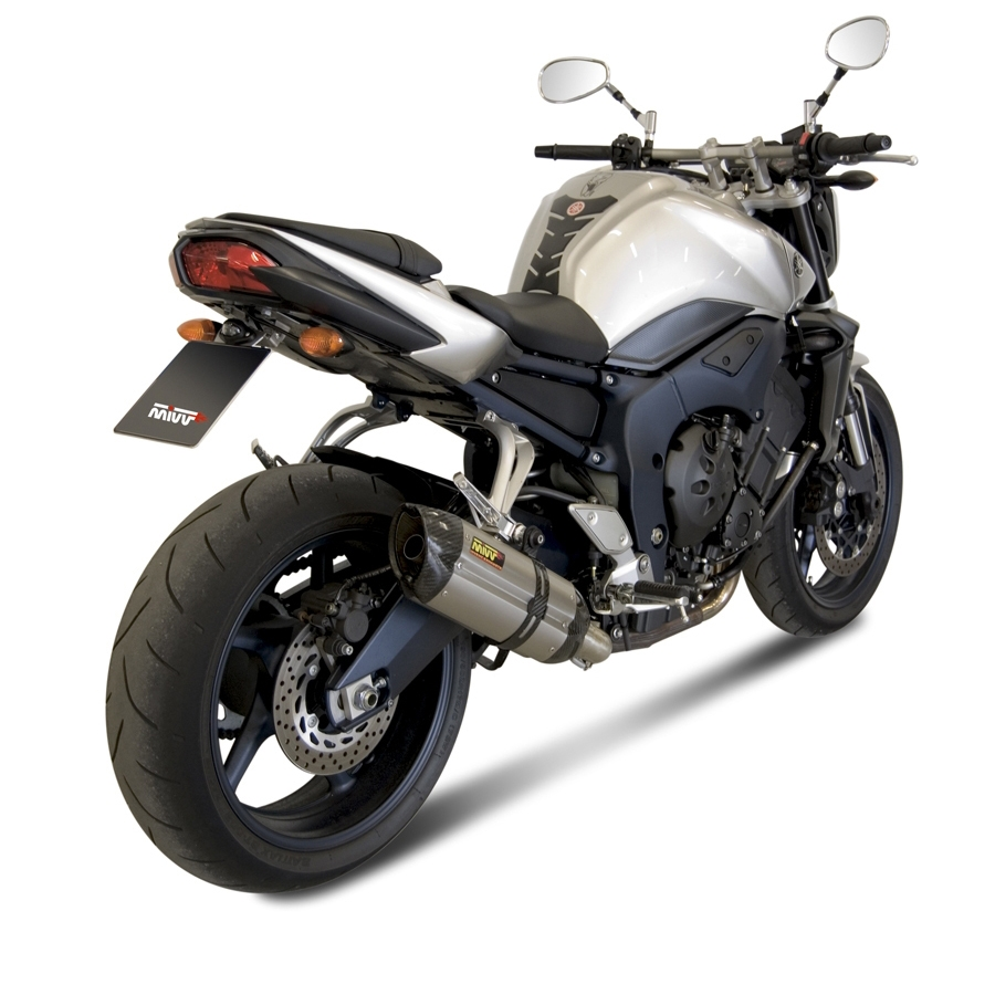 Silencieux MIVV Suono inox / casquette carbone Yamaha FZ1 / FZ1 Fazer