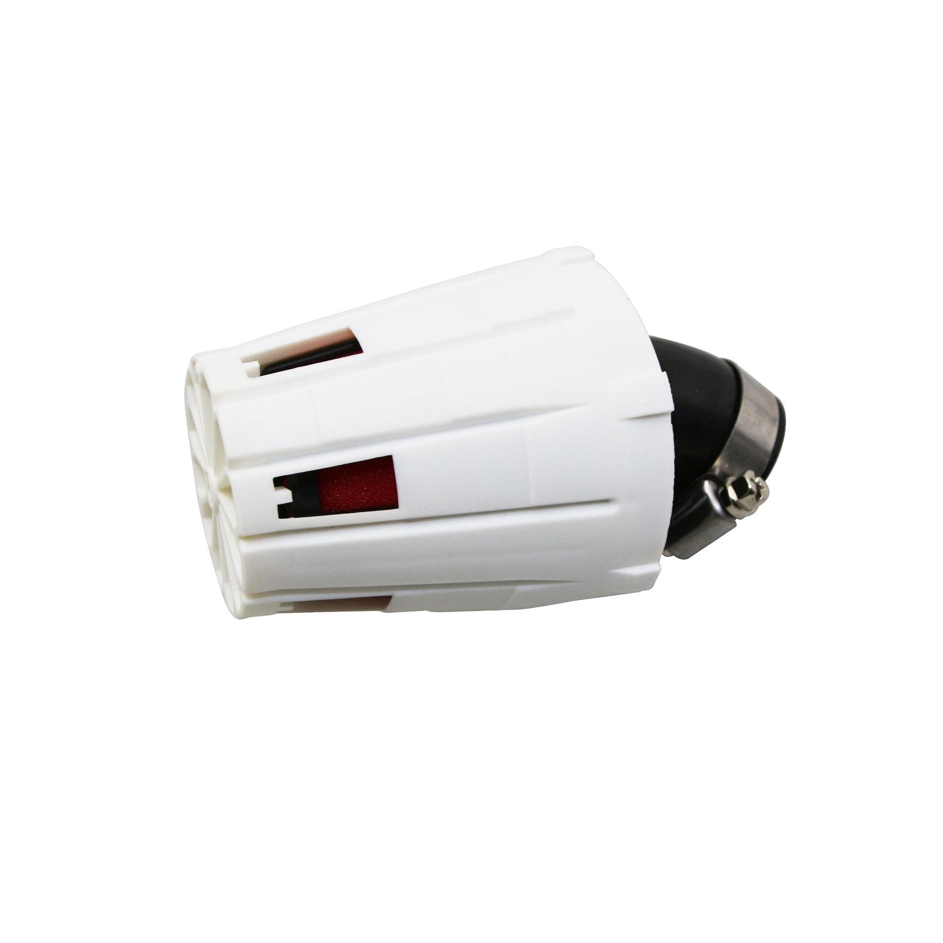 Filtre à air Replay E5 box blanc mousse rouge fixation universelle 0/4