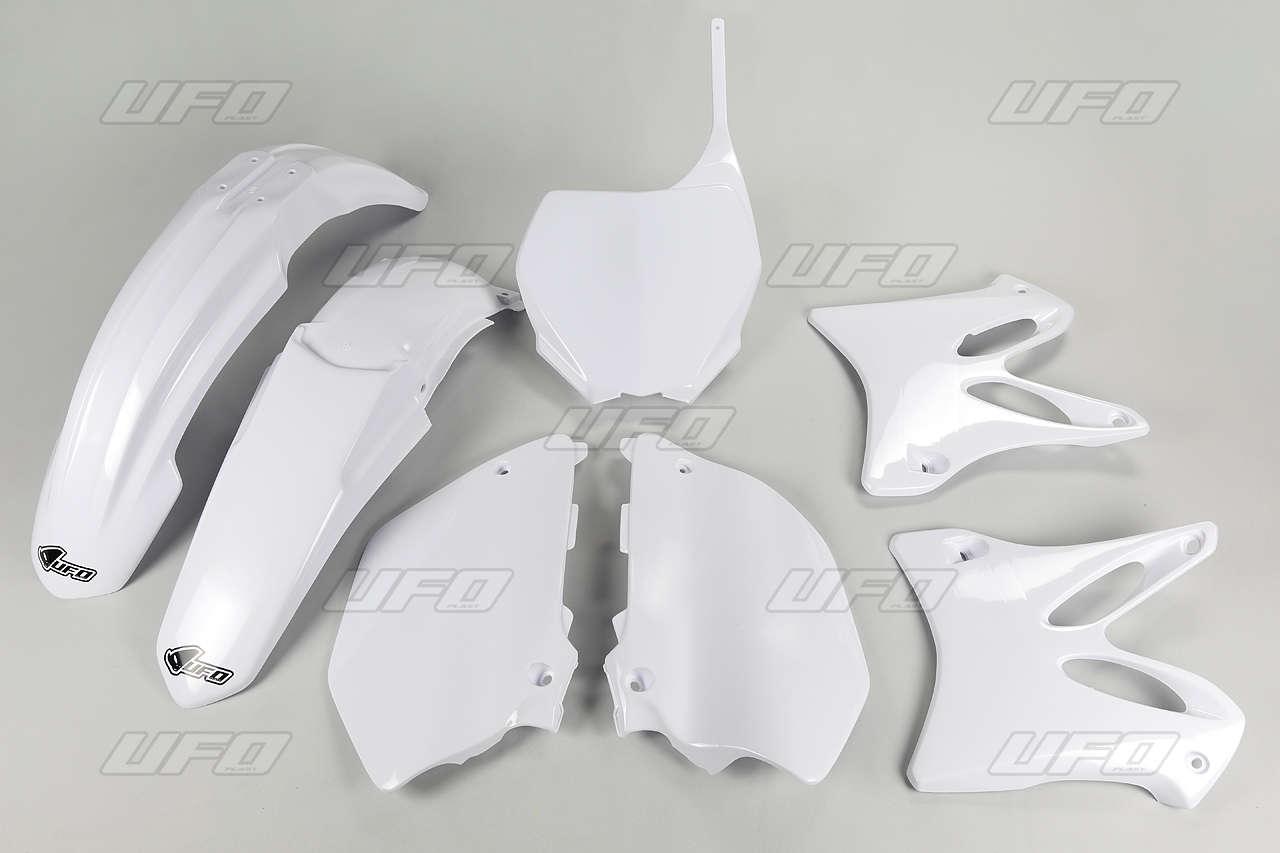 Kit plastique UFO Yamaha 125 YZ 06-12 blanc