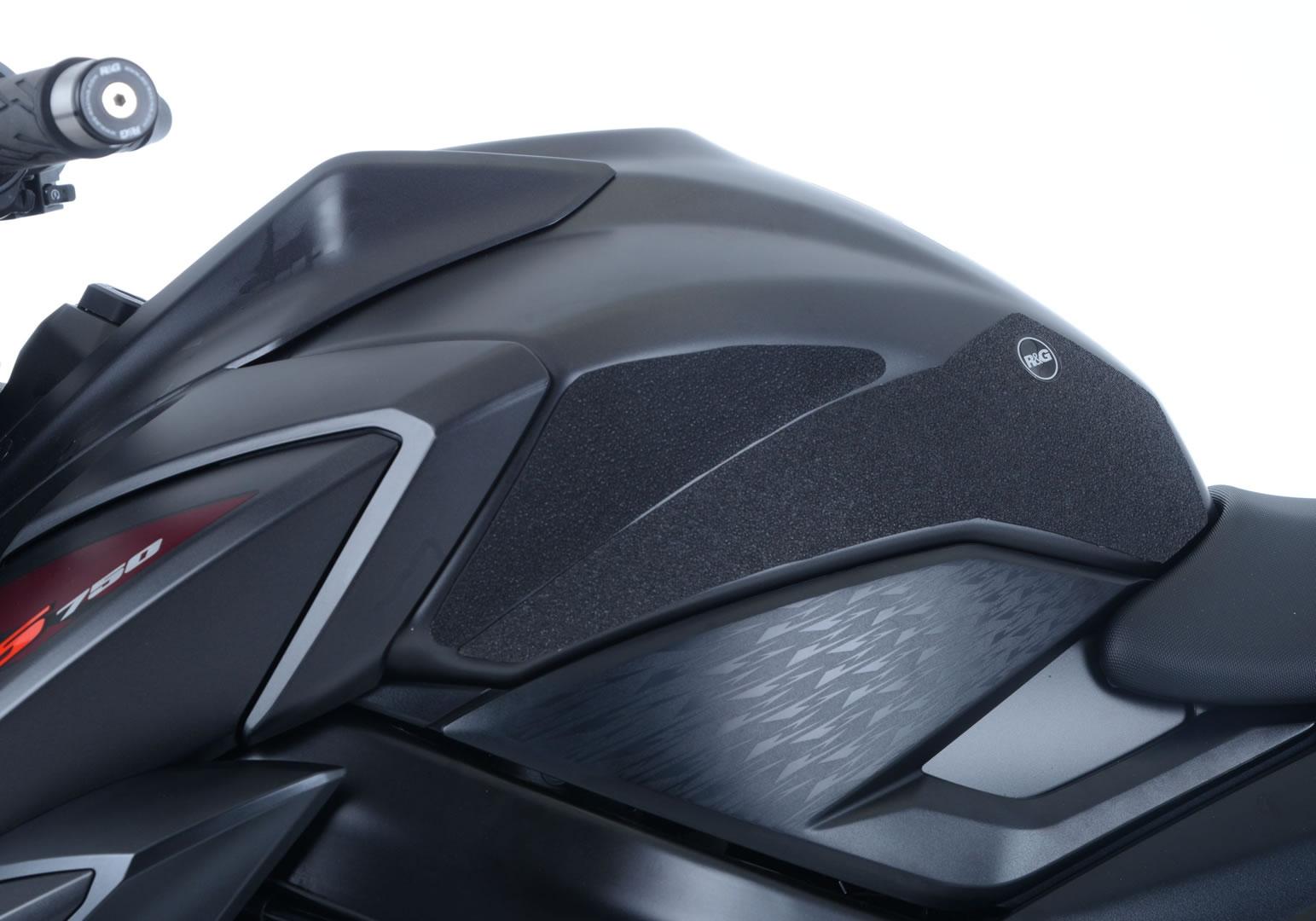Kit grip de réservoir R&G Racing translucide Suzuki GSX-S 750 17-18